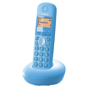Teléfono inalámbrico digital Panasonic KX-TGB210 SPF Azul