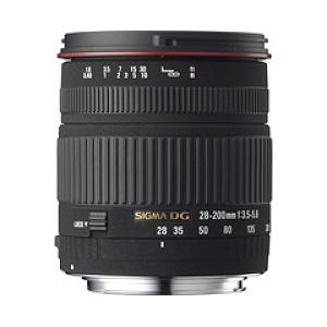 Sigma 28-200MM F3.5-5.6 DG MACRO Para Minolta