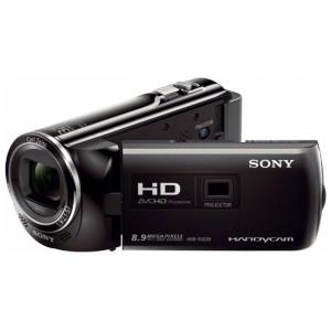 Videocámara Sony HDRPJ220E negra