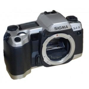 Cámara analógica Sigma SA-5 Cuerpo QD Silver