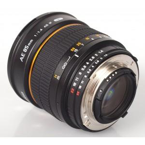 Samyang 85mm f/1.4 AS IF UMC AE para Nikon