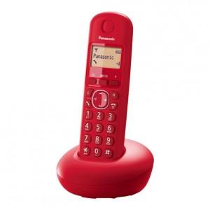 Teléfono inalámbrico digital Panasonic KX-TGB210 SPR rojo
