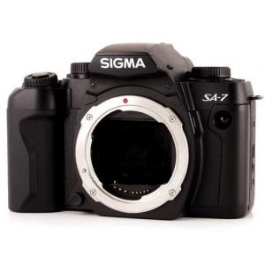 Cámara analógica Sigma C/F SA-7 cuerpo
