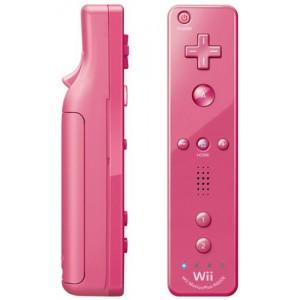 Mando WiiU Remote Plus Rosa