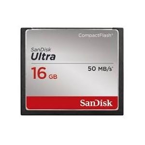 Tarjeta CF Ultra Sandisk 16GB 50MB/s
