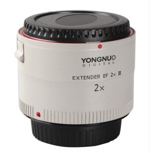 Yongnuo teleconvertidor EF 2x III