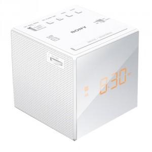 Radio Reloj Sony ICF-C1 blanco