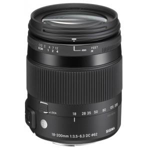 Sigma 18-200mm f/3.5-6.3 DC MACRO OS HSM | Contemporary para Canon
