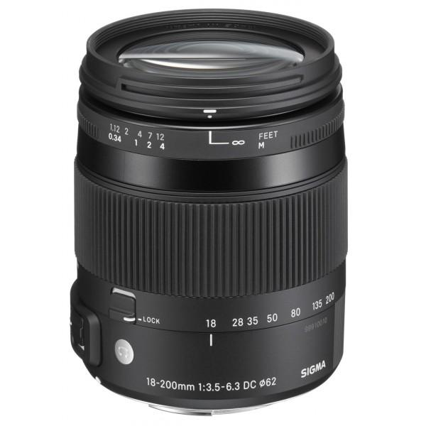 Sigma 18-200mm f/3.5-6.3 DC MACRO OS HSM | Contemporary para Nikon