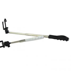 Kit selfie monopie con disparador + soporte ajustable