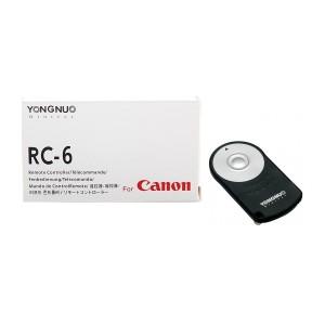 Controlador remoto por infrarrojos para Canon Rc6