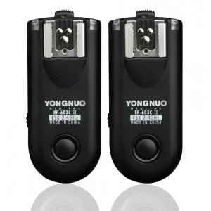 Disparador de flash Yongnuo yn-rf603II c1