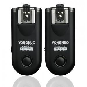 Disparador de flash Yongnuo yn-rf603II c1