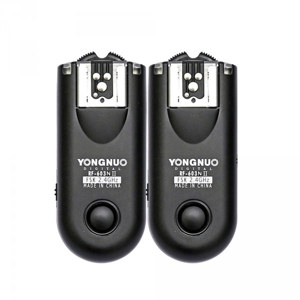 Disparador de flash Yongnuo yn-rf603II n1