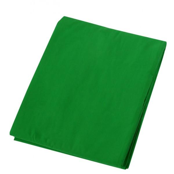 Fondo de tela para kit de estudio verde