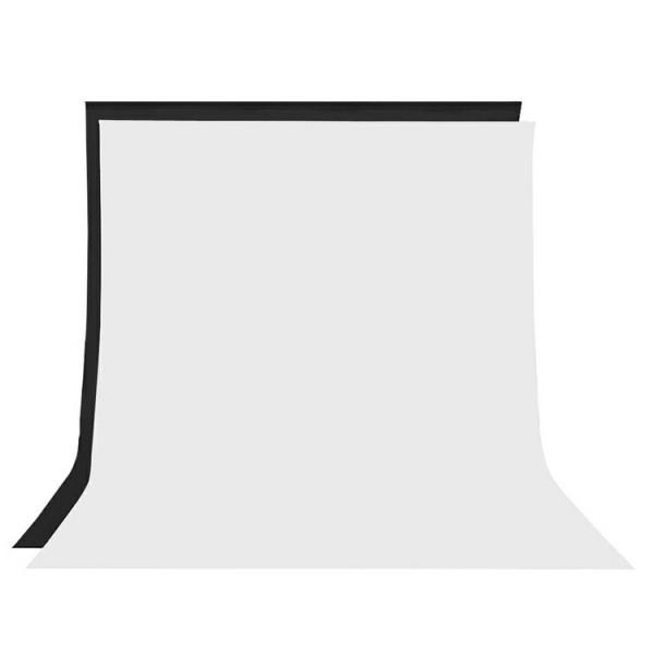 Fondo de tela para kit de estudio blanco