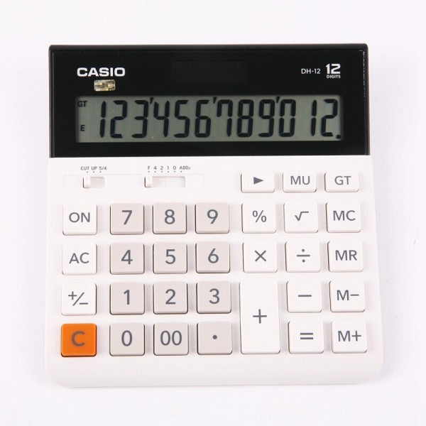 Calculadora Casio DH-12 blanco