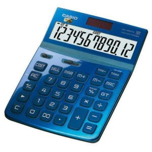 Calculadora Casio DW-200TW AZUL