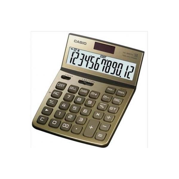 Calculadora Casio DW-200TW dorado