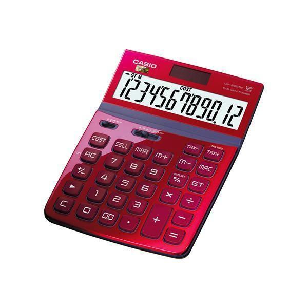 Calculadora Casio DW-200TW ROJA