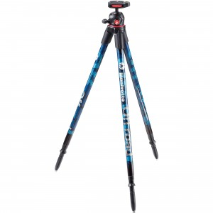 Trípode Manfrotto Off Road azul