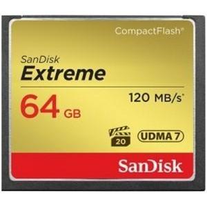 Tarjeta CF Extreme Sandisk 64GB 120MB/s
