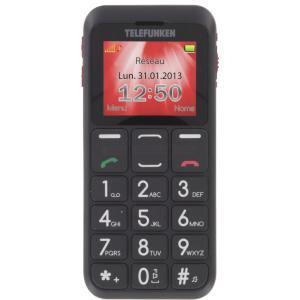 Teléfono Telefunken TM100 rojo