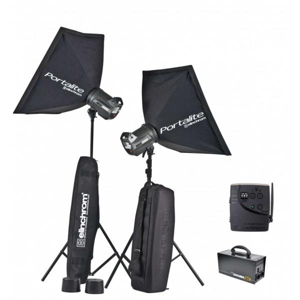 kit de 2 flash elinchrom d lite rx4 bateria. Black Bedroom Furniture Sets. Home Design Ideas