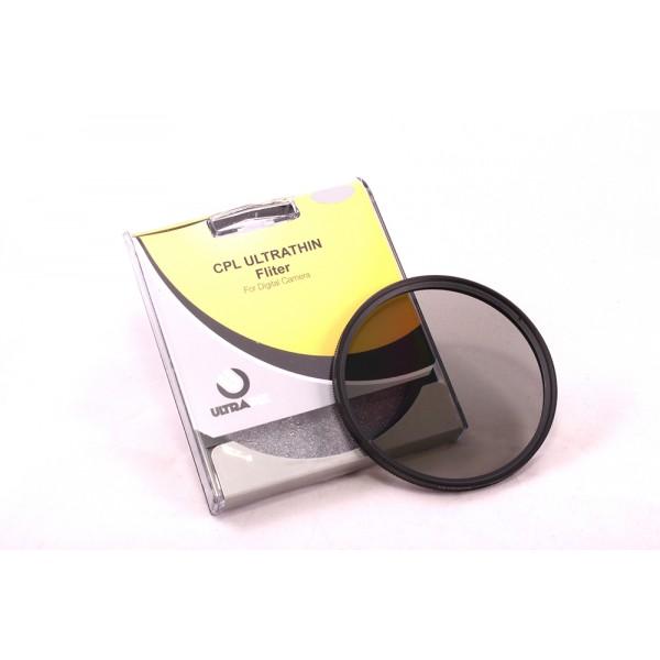 Filtro Circular Polarizado (CPL) Multicapa 58MM Ultrapix