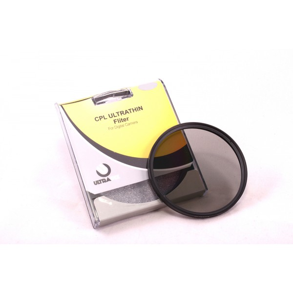 Filtro Circular Polarizado (CPL) Multicapa 55MM Ultrapix