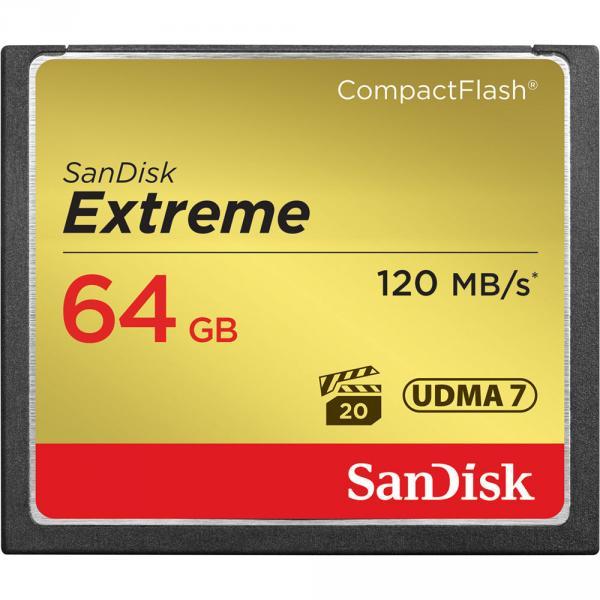 Tarjeta CF Extreme Sandisk 64GB
